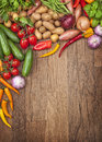 Assortment Of Fresh Vegetables Royalty Free Stock Image - 30206396