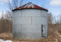 Old Metal Silo Stock Images - 30213994