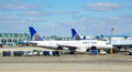 United Airlines Plane Chicago O Hare Royalty Free Stock Photo - 30227055