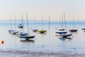Essex Coast At Low Water On A Summer Morning Stock Photos - 30228783