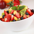 Summer Fruit Salad Royalty Free Stock Images - 30229229