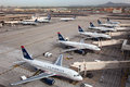 US Airways Aircraft At Phoenix Sky Harbor Airport Stock Photo - 30229810
