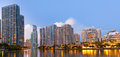 Miami Florida, Brickell And Downtown Financial Buildings Royalty Free Stock Images - 30242359