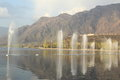 Fountain On Dal Lake. Stock Images - 30253634