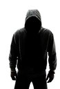 Mysterious Man In Silhouette Stock Photography - 30260142