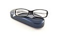 Glasses On Its Case Royalty Free Stock Photography - 30270277