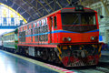 The Diesel Electric Locomotives Of Thailand Royalty Free Stock Photo - 30270665