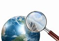 Conceptual Mini Planet With A City On It Royalty Free Stock Photo - 30275795