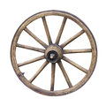 Old Wooden Wheel Royalty Free Stock Photo - 30296775