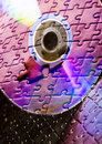 Cds On Jigsaws Royalty Free Stock Photo - 3038605