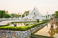 White Pagoda At The Thai Temple, Khonkaen Royalty Free Stock Photo - 30304515