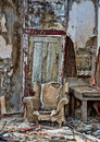 Decayed Chair In Randsberg Royalty Free Stock Photography - 30309347