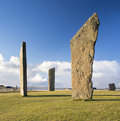 Standing Stones Of Stenness Royalty Free Stock Photo - 30312885