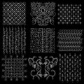 Batik Javanese Traditional Pattern Collection 2 Royalty Free Stock Photography - 30317357