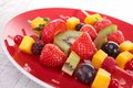 Fruits On Picks Royalty Free Stock Photography - 30339977