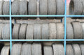 Old Tires In Storage Stock Photos - 30366733