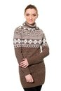 Nice Young Woman In Sweater Royalty Free Stock Images - 30369139
