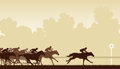 Horse Race Royalty Free Stock Image - 30385516