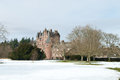 Glamis Castle In Winter Stock Images - 30397994