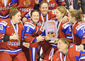 IIHF Women S Ice Hockey World Championship - Bronze Medal Match - Russia V Finland Royalty Free Stock Photo - 30398275