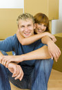 Hugging Couple Stock Images - 3041764