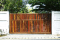 Wooden Gate Stock Photo - 30418420