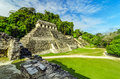 Temples In Palenque Stock Photos - 30420003