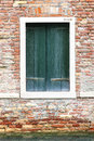 Windows Of Old House In Venice Stock Photos - 30429333