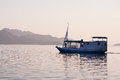 Local Fishing Boat In The Ocean Royalty Free Stock Photography - 30432897