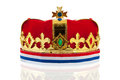 Dutch Golden Crown For The King Stock Photo - 30434290