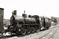 Old Steam Locomotive Royalty Free Stock Photos - 30436658