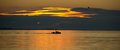 Boat At Sunset Royalty Free Stock Images - 30459299