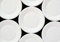 White Disposable Plate Royalty Free Stock Photos - 30464718