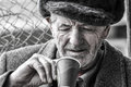 Poor Old Man Royalty Free Stock Photo - 30471095