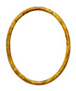 Oval Yellow Frame Stock Photo - 30483420