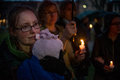 Vigil For Newtown Shooting Victims. Royalty Free Stock Photography - 30489857