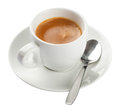 Espresso, Coffee Cup Isolated On White Royalty Free Stock Photos - 30491208