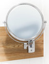 Round Wall Mirror For The Bath Stock Images - 30504614