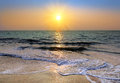 Sunset Over Sea Royalty Free Stock Photo - 30504855