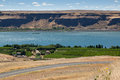Vineyard On The Columbia River Royalty Free Stock Photo - 30527575