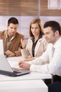 Young Businesspeople Working Together Stock Image - 30529471