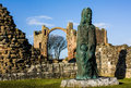 Statue At Holy Islands Royalty Free Stock Photos - 30530078