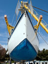 Sailboat On Crane Stock Images - 30541494