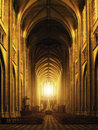 Interior Of Orleans Gothic Cathedral Stock Image - 30542201