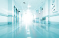 Rays Of Light In The Corridor Of The Hospital Stock Image - 30544511