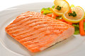Grilled Salmon Royalty Free Stock Photography - 30544787