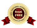 Risk Free Satisfaction Guaranteed Royalty Free Stock Images - 30547999
