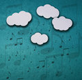 Its Raining Notes Royalty Free Stock Photography - 30553327