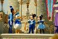 Disney Characters On Stage Royalty Free Stock Images - 30554009