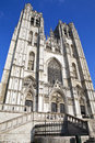 St. Michael And St. Gudula Cathedral In Brussels Royalty Free Stock Photography - 30563437